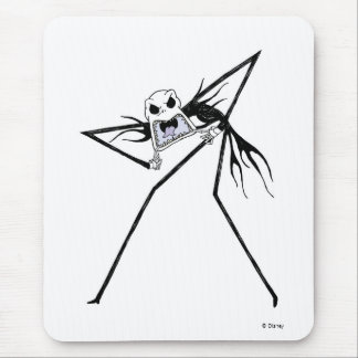 Nightmare Before Christmas' Jack Screaming Mouse Pad