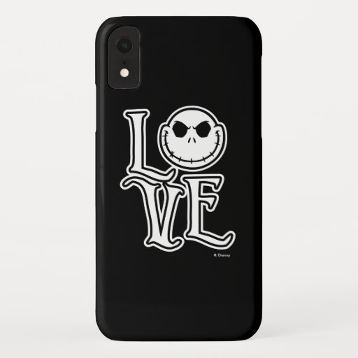 Nightmare Before Christmas - LOVE iPhone XR Case