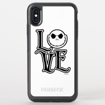 Nightmare Before Christmas - LOVE OtterBox Symmetry iPhone XS Max Case