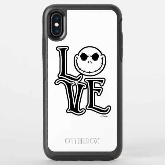 Nightmare Before Christmas Phone Case.Nightmare Before Christmas Love Otterbox Iphone Case