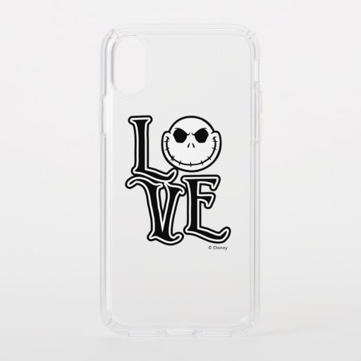 Nightmare Before Christmas - LOVE Speck iPhone XS Case