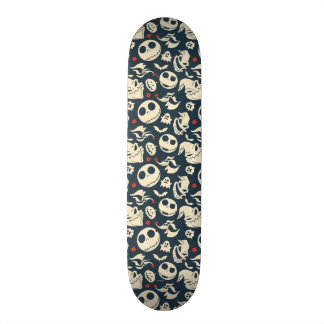 Nightmare Before Christmas | Oh What Joy - Pattern Skateboard