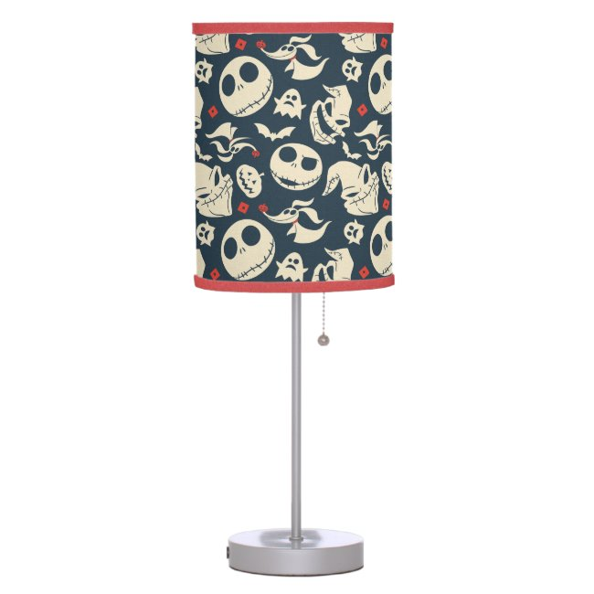 Nightmare Before Christmas   Oh What Joy - Pattern Table Lamp