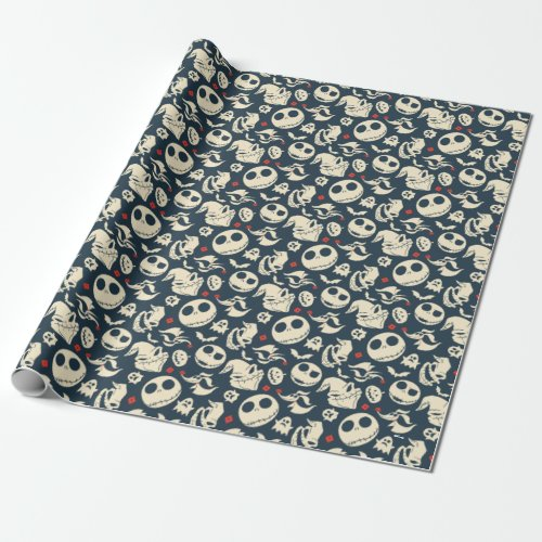 Nightmare Before Christmas  Oh What Joy _ Pattern Wrapping Paper