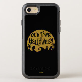 Nightmare Before Christmas | Our Town Of Halloween OtterBox Symmetry iPhone 8/7 Case