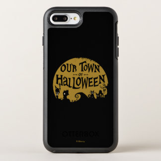 Nightmare Before Christmas | Our Town Of Halloween OtterBox Symmetry iPhone 8 Plus/7 Plus Case