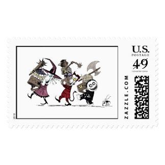 Nightmare Before Christmas Postage
