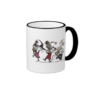 Nightmare Before Christmas Ringer Mug