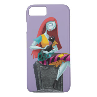 Nightmare Before Christmas | Sally & Cat Sitting iPhone 8/7 Case