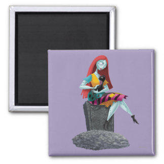 Nightmare Before Christmas   Sally & Cat Sitting Magnet