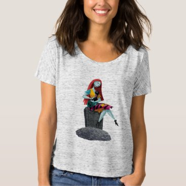 Christmas Themed Nightmare Before Christmas | Sally & Cat Sitting T-Shirt