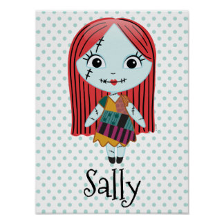 Nightmare Before Christmas | Sally Emoji 3 Poster