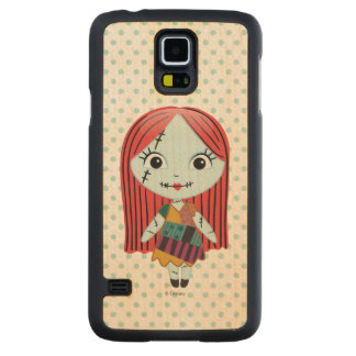 Nightmare Before Christmas | Sally Emoji Carved Maple Galaxy S5 Slim Case
