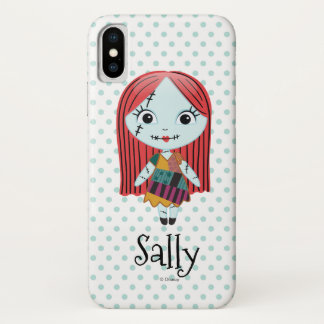 Nightmare Before Christmas | Sally Emoji iPhone X Case