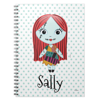 Nightmare Before Christmas   Sally Emoji Notebook