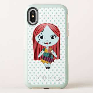 Nightmare Before Christmas | Sally Emoji OtterBox Symmetry iPhone X Case