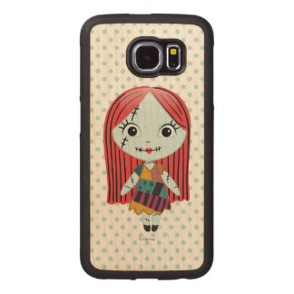 Nightmare Before Christmas | Sally Emoji Wood Phone Case
