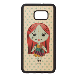 Nightmare Before Christmas | Sally Emoji Wood Samsung Galaxy S6 Edge Case