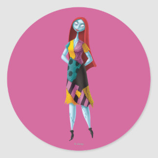 Nightmare Before Christmas | Sally Standing Classic Round Sticker