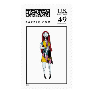 Nightmare Before Christmas Sally standing Postage Stamps