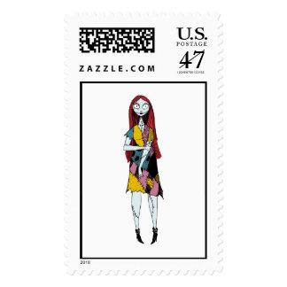 Nightmare Before Christmas Sally standing Postage Stamp