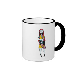 Nightmare Before Christmas Sally standing Ringer Mug