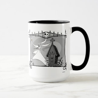 Nightmare Before Christmas | Zero in Cemetery Mug