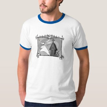 Halloween Themed Nightmare Before Christmas | Zero in Cemetery T-Shirt