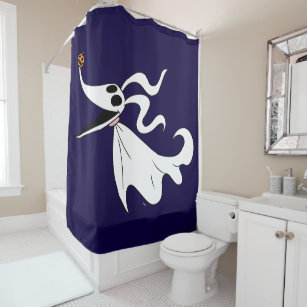 nightmare before christmas zero shower curtain