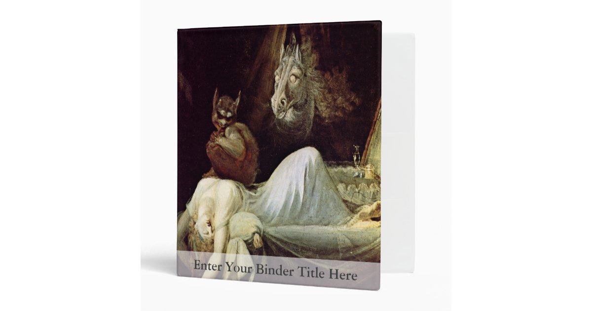 Nightmare By Füssli Johann Heinrich (Best Quality) Binder ...
