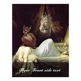 Nightmare By Füssli Johann Heinrich (Best Quality) Flyer