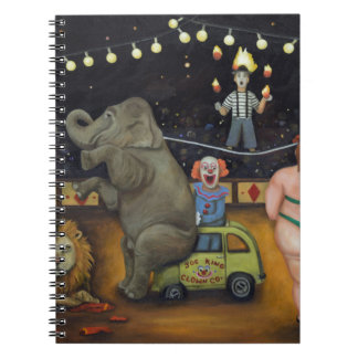 Nightmare Circus Spiral Notebook