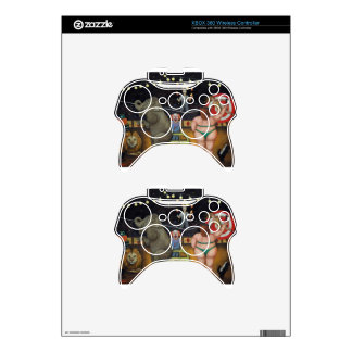 Nightmare Circus Xbox 360 Controller Skins