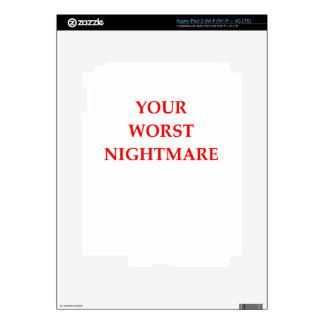 NIGHTMARE DECALS FOR iPad 3