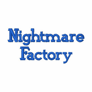 Nightmare Factory Embroidered Hoodie