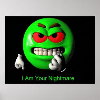 Nightmare Geekoid Poster