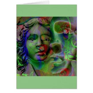 Nightmare (Green) ... Greeting Card
