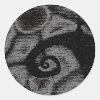 nightmare inspired sticker gray version