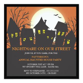 Nightmare Neighborhood Halloween Party Invitation