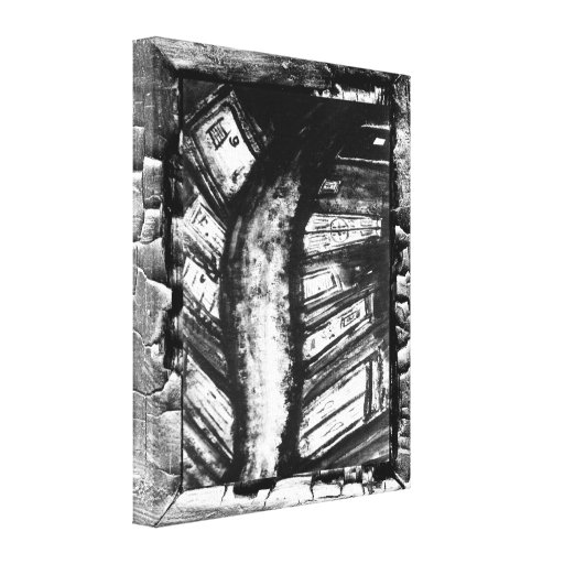 Nightmare Path Canvas Print