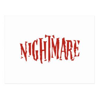 Nightmare Postcard