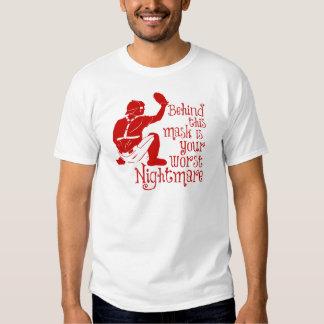 Nightmare, red t shirt