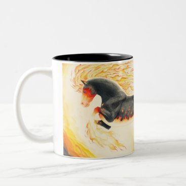 Nightmareartist Nightmare redesign Two-Tone coffee mug