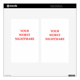 NIGHTMARE SKINS FOR KINDLE FIRE