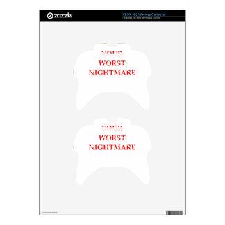 NIGHTMARE XBOX 360 CONTROLLER DECAL