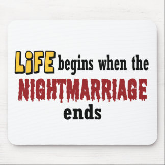 Nightmarriage Ends Mouse Mats