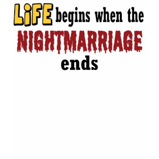 Nightmarriage Ends shirt