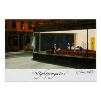 nightpenguins posters