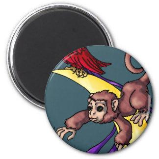 Nightrain Artisans 2 Inch Round Magnet