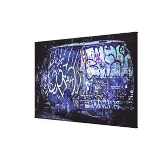 NightRider truck Graffti's the Mission District Gallery Wrap Canvas